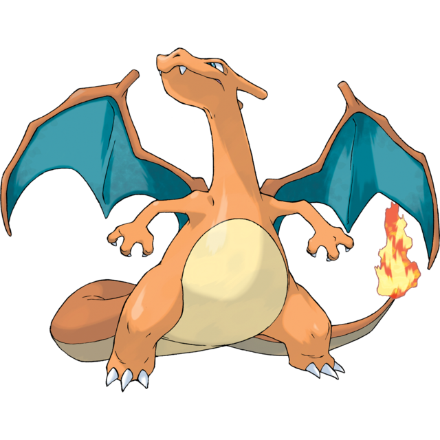 09 Charizard Known As Lizardon In Japan