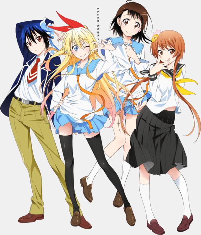 Character Design Nisekoi : Crunchyroll latest look at quot nisekoi anime character designs