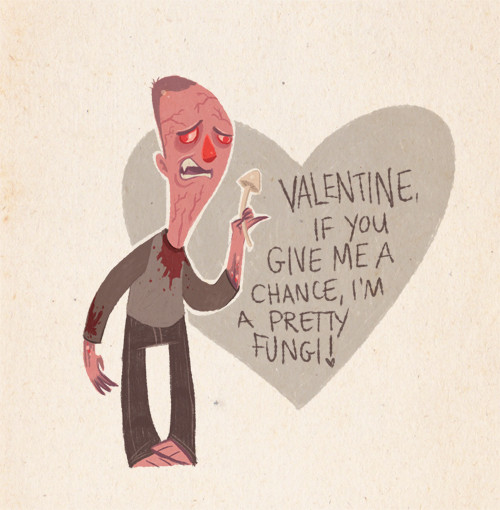 naughty Dog Valentine Card