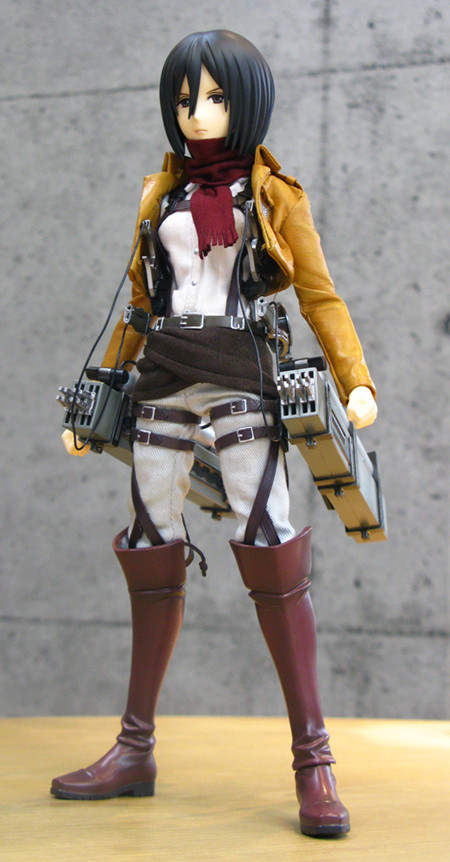 mikasa real action hero