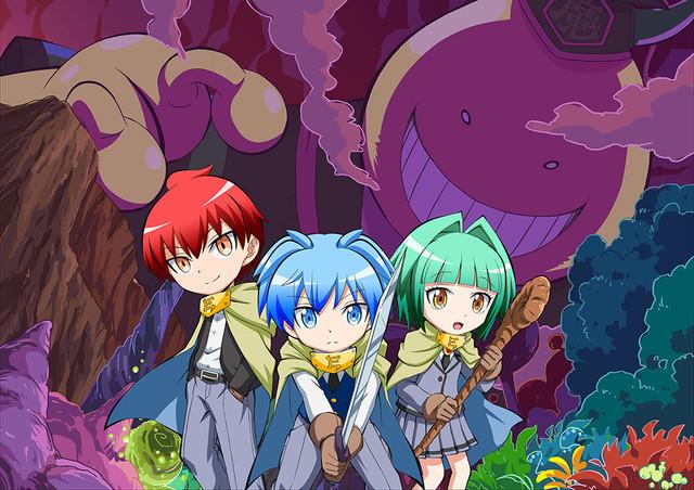 crunchyroll anime series to adapt assassination classroom