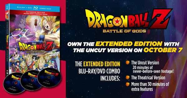 FUNimation DBZ Battle of Gos home video