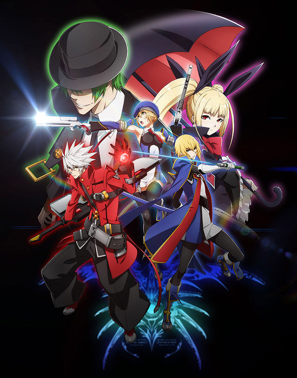 BlazBlue Alter Memory key art