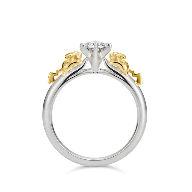 Wedding Ring Necklace 37 Elegant The Pikachu Solitaire Ring