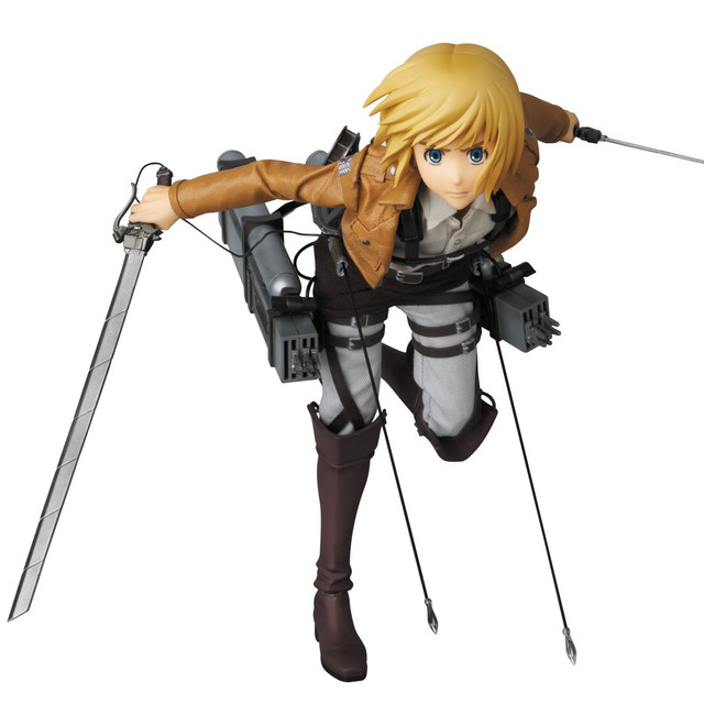 """Anime Batch Action: Pre-order Opening For Foot Tall """"Attack On"""