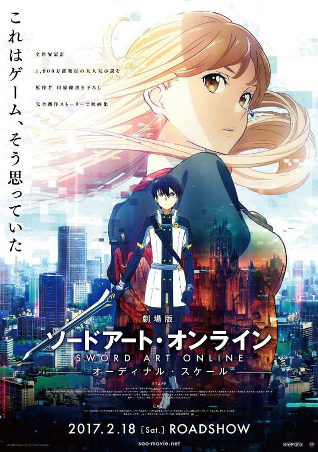 Sword Art Online Ordinal Scale 2017 [BRRip 720p] [Latino] [1 Link] [MEGA]