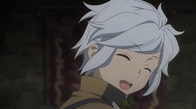 Danmachi Bell Smile