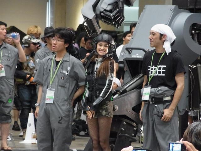 """Giant Robot """"Kuratas"""" KR01 Appears at Wonder Festival 2012Crunchyroll - Giant Robot """"Kuratas"""" KR01 Appears at Wonder Festival 2012 - 웹"""