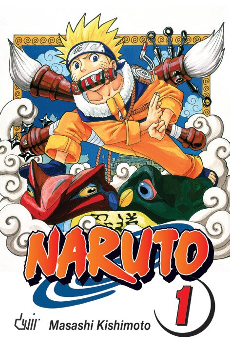 Capa do 1.º volume de Naruto