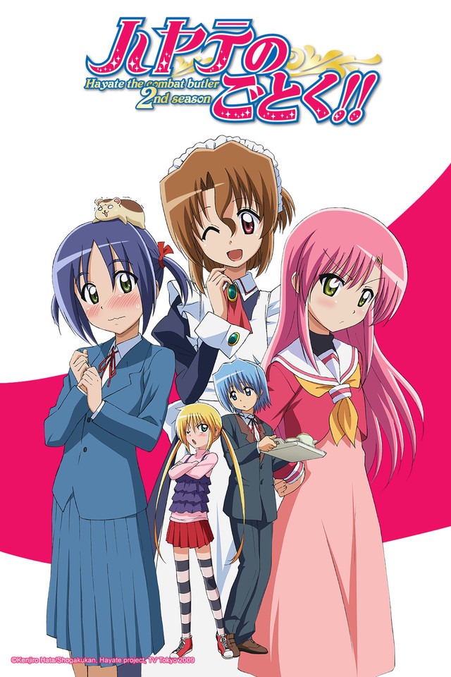 Hayate the Combat Butler! (Season 1 & 2)