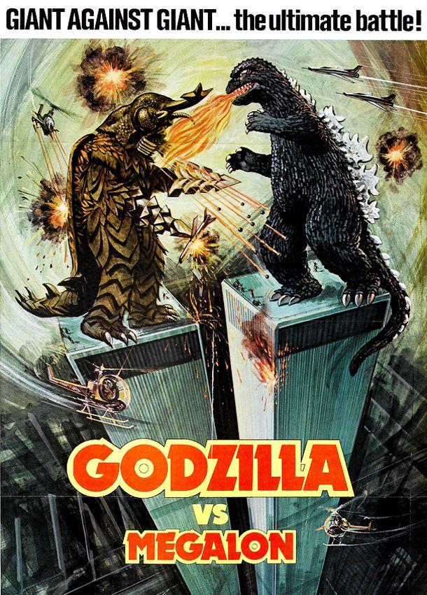 "Movie Posters Canada >> Crunchyroll - FEATURE: Cruising the Crunchy-Catalog: ""Godzilla vs. Megalon"""
