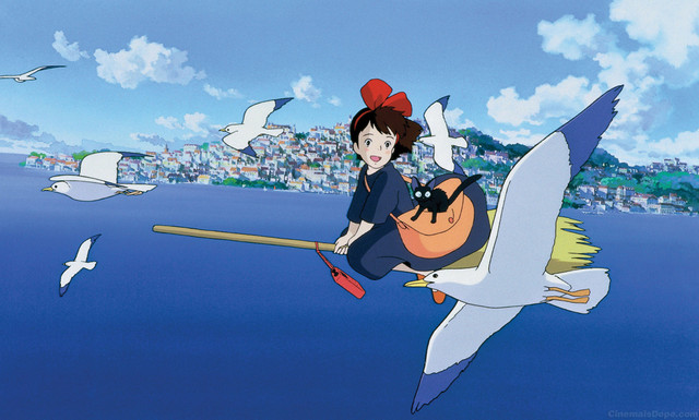 Kikis Delivery Service Is A Great One Girl Power But Has Cool Boy Who Her Friend Rated G 1989 Dub Available