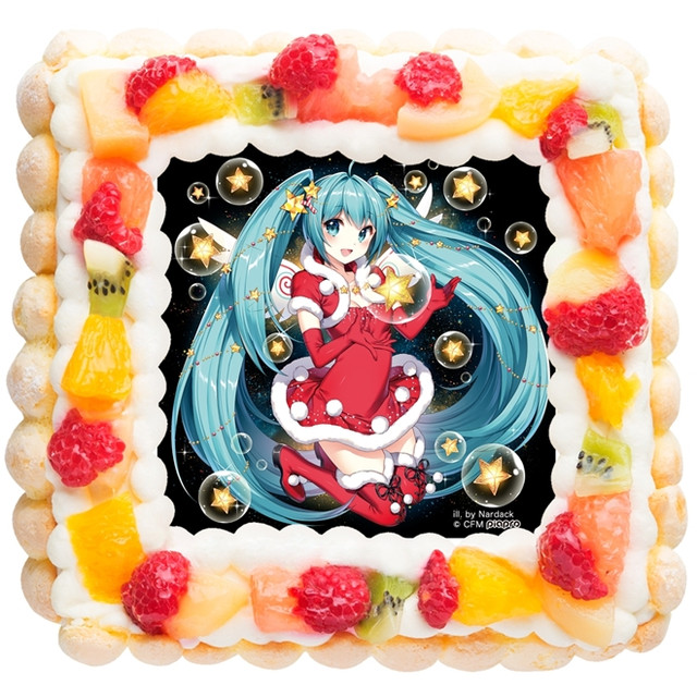 Crunchyroll This Years Official Hatsune Miku Christmas Cakes Now