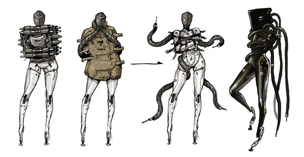 Character Design Major : Crunchyroll video quot metal gear rising revengeance