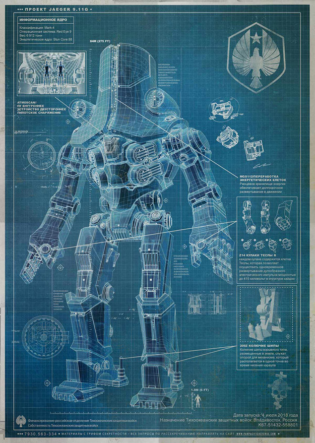 Crunchyroll - Giant Japanese Techno-Tyrant Mech Looms Over ... Pacific Rim Cherno Alpha Anime