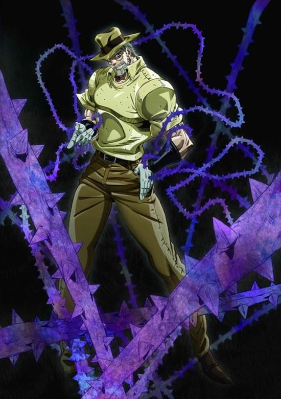 Stand Designs Jojo : Anime magazine quot jojo s bizarre adventure stardust