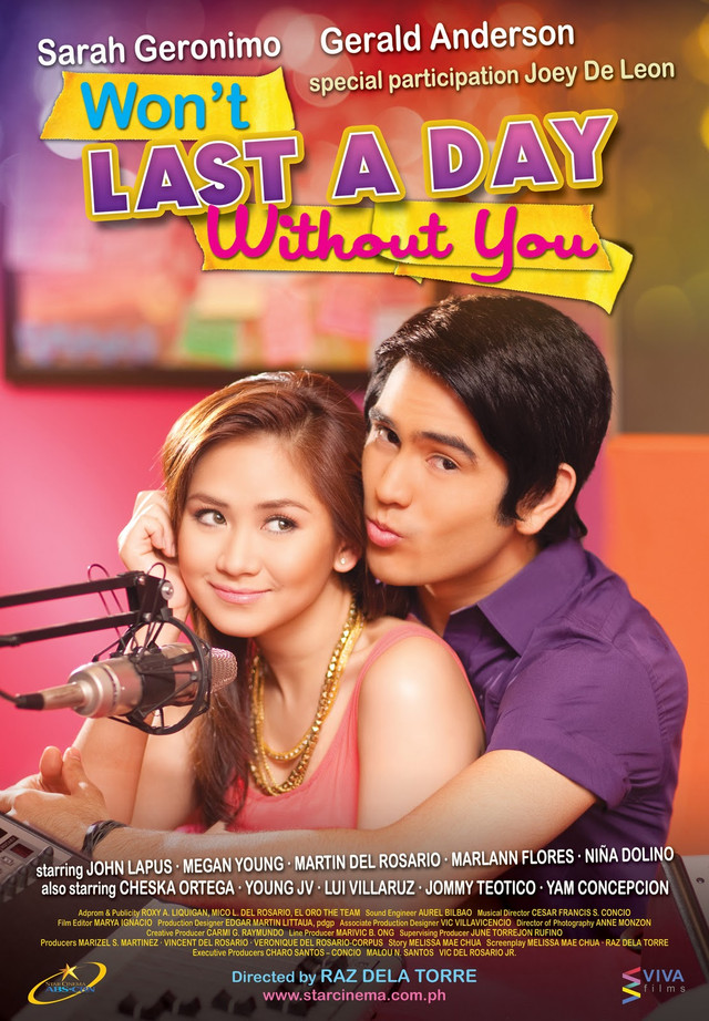 Won�t Last a Day Without You / 2011 / Filipinler