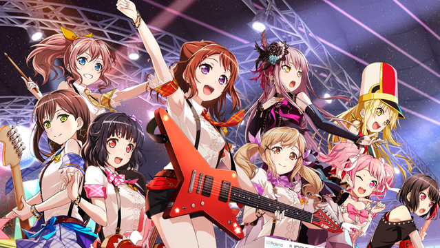 The girls of BanG Dream! are taking their show on the road this spring, and  soon to be available to English speaking players in the west.