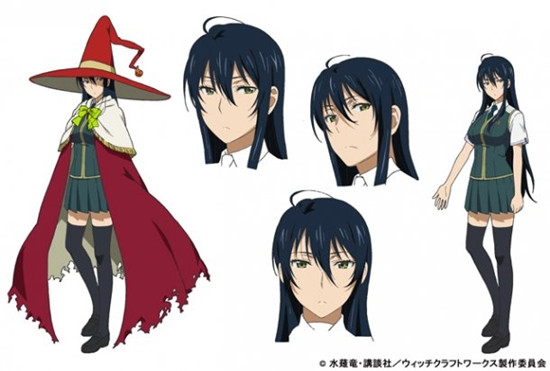 Crunchyroll Video Quot Witch Craft Works Quot Tv Anime