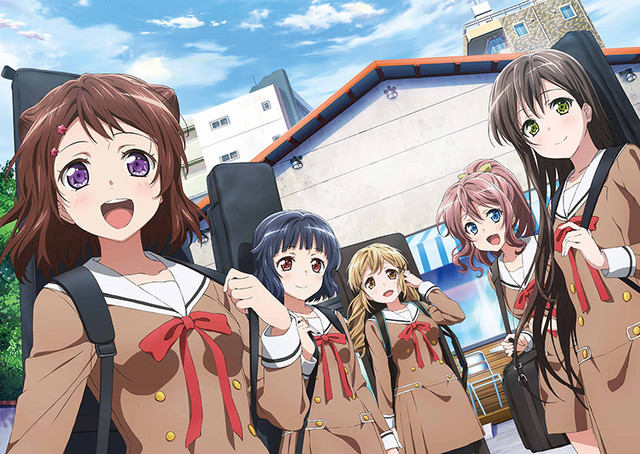 news bang dream girls band project gets anime