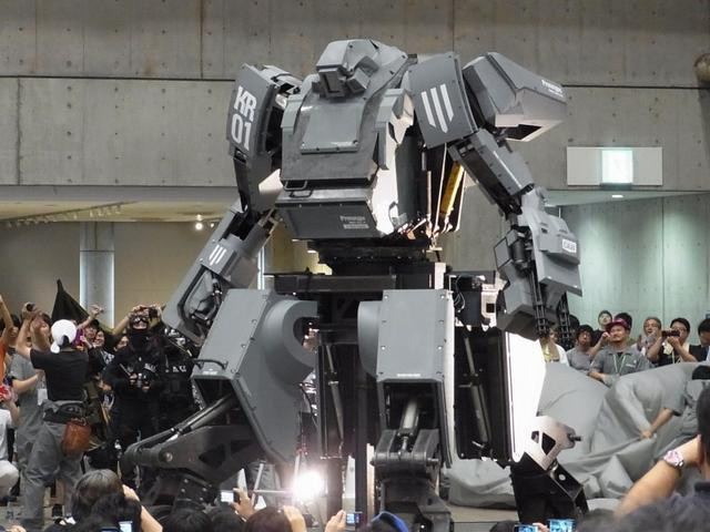how to build a giant robot