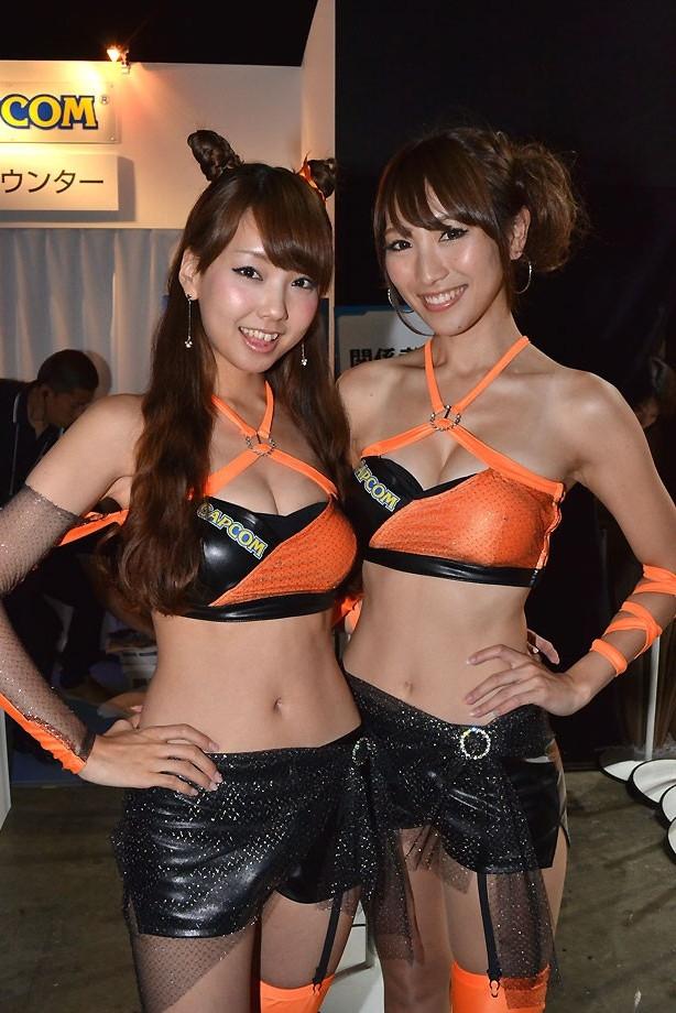 Japan girl gameshow quiz strip