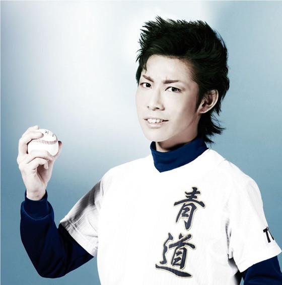 "Ace Of Diamond Appreciation Tanba Koichiro: More Cast Visuals For ""Ace Of Diamond"" Stage"