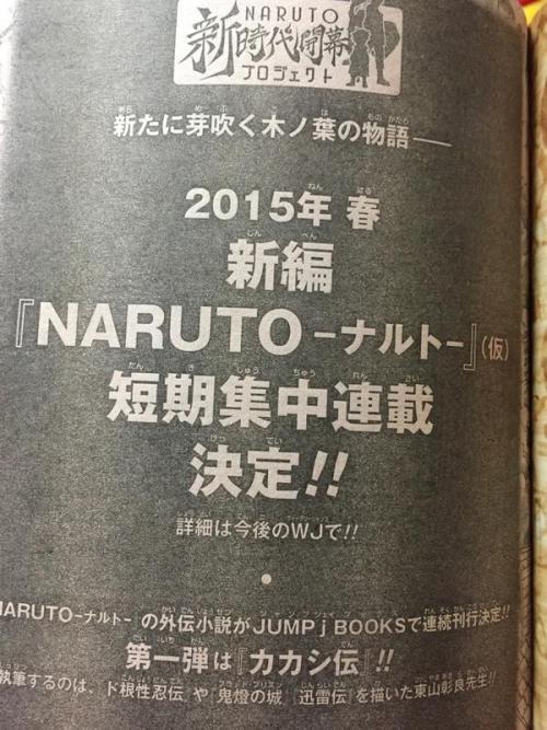 Naruto de Volta em 2015