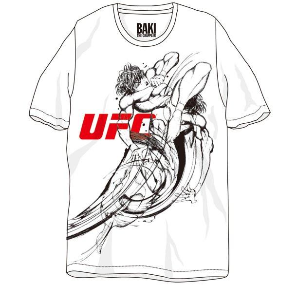 "Baki The Grappler Ultimate Championship: Beams Produces ""Baki The Grappler"" X UFC T-Shirt"