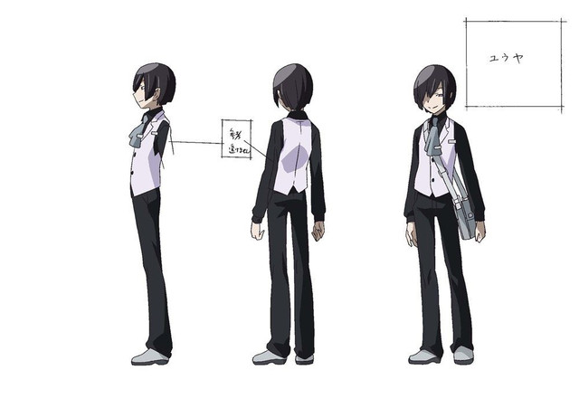 Anime Characters Side View : Show posts viruschris