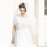Suzu Hirose Shows Her Wedding Dress in