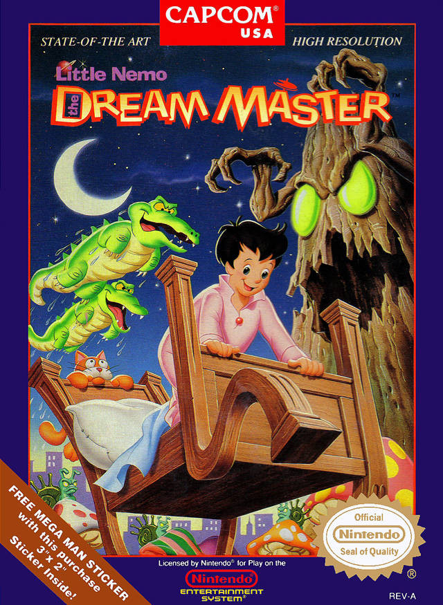 "Column: ""Natestalgia!"" -- Dream-Diving with ""Little Nemo: Adventures in ..."