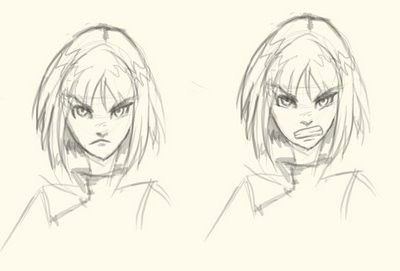 Pics For > Angry Face Anime