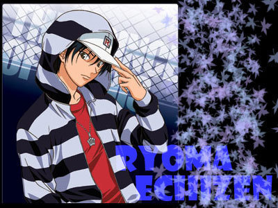echizen ryoma from the prince of tennis