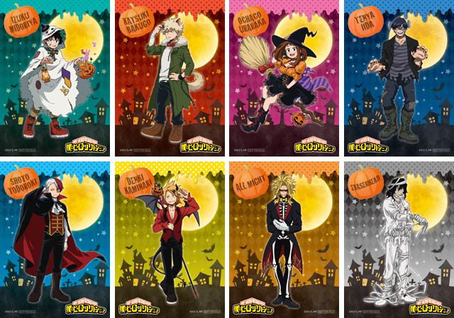 Crunchyroll Anime Shop Adds Pumpkin Spice To Quot My Hero
