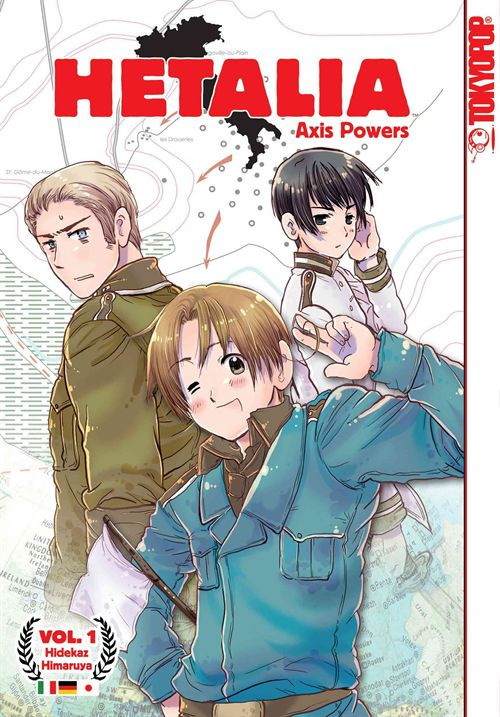 Hetalia Axis Powers Tokyopop