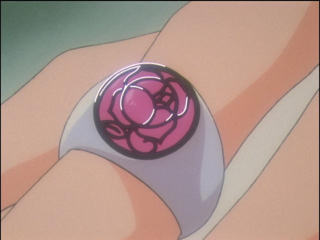 utena rose ring
