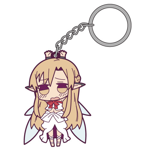 Sword Art Online Leafa Pinched Key Chain COSPA FROM JAPAN