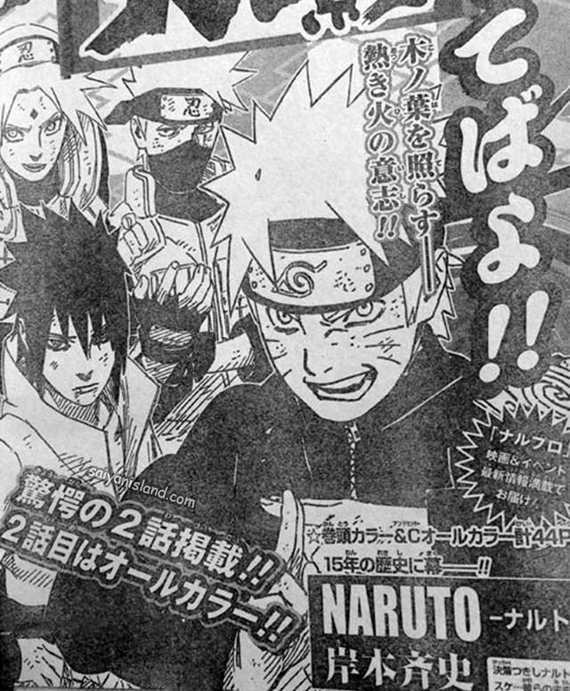 "Latest ""Naruto"" Movie And Manga Finale Plans"