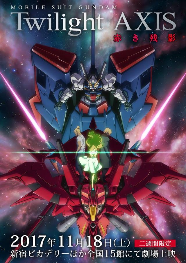 "Crunchyroll - Compilation ""Gundam Twilight AXIS"" Anime ..."