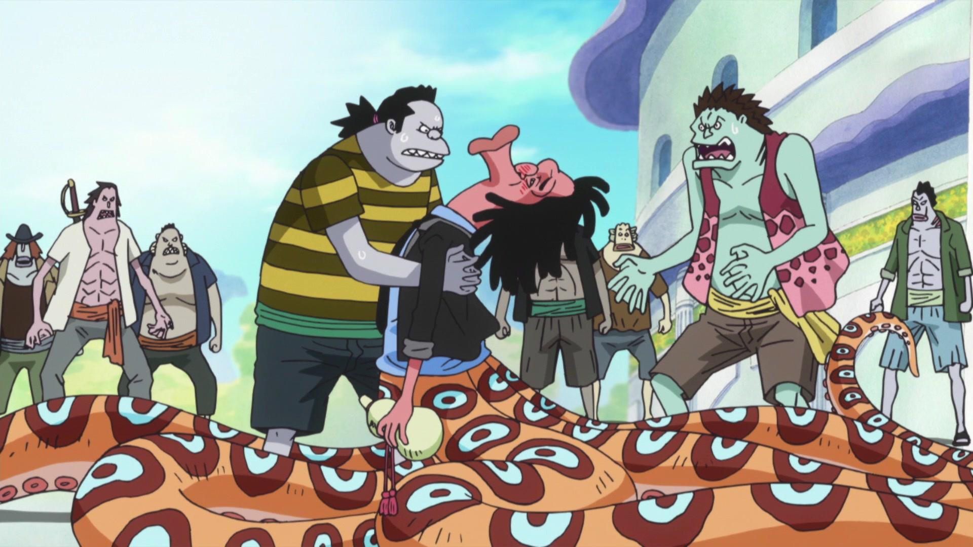 One Piece: Fishman Island (517-574) Episode 550, Something Has