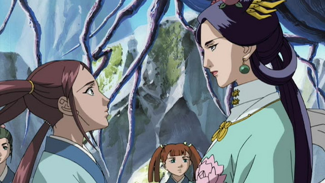 The Twelve Kingdoms (Dub) Episode 15, The Sea of Wind, The