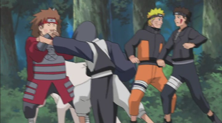 Naruto Shippuden Staffel 3 Die Zwolf Ninjawachter Folge 70