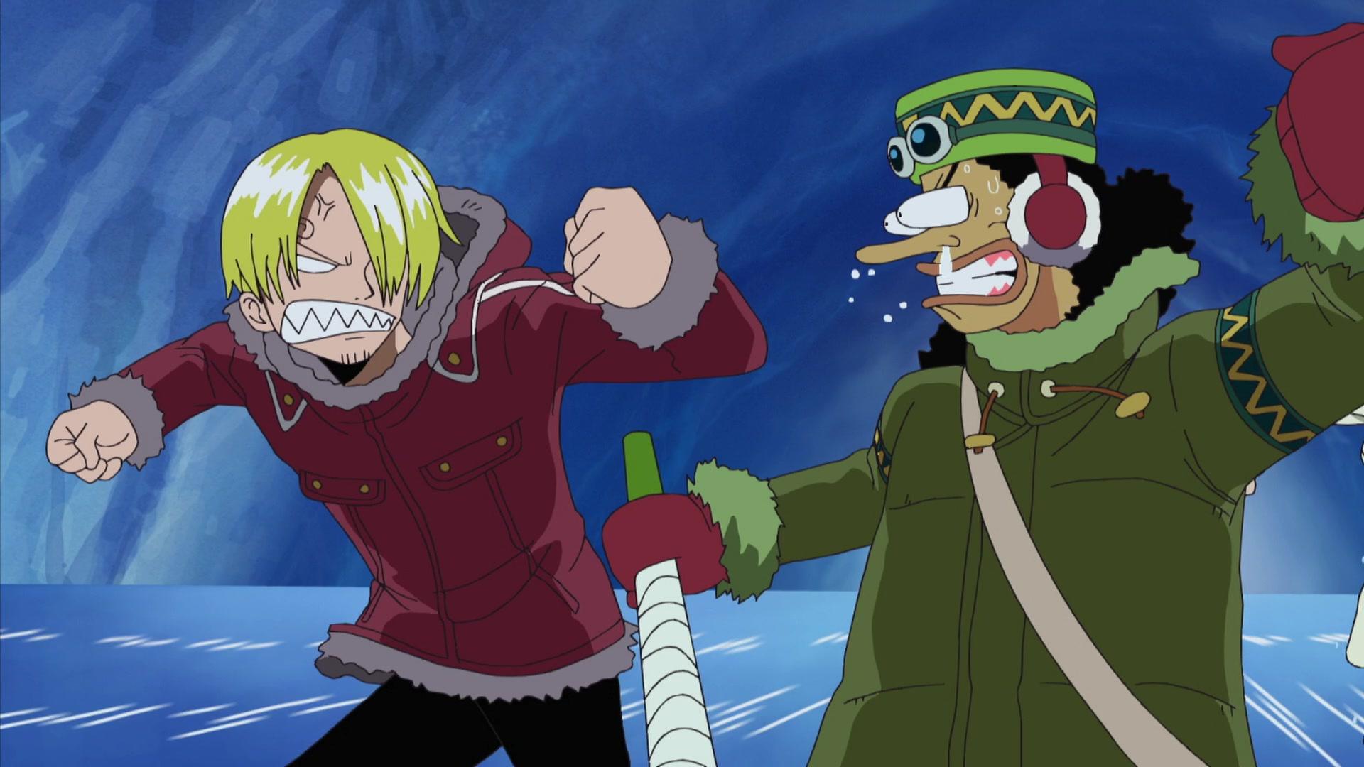 One Piece: Thriller Bark (326-384) Episode 331, Hot Full Throttle