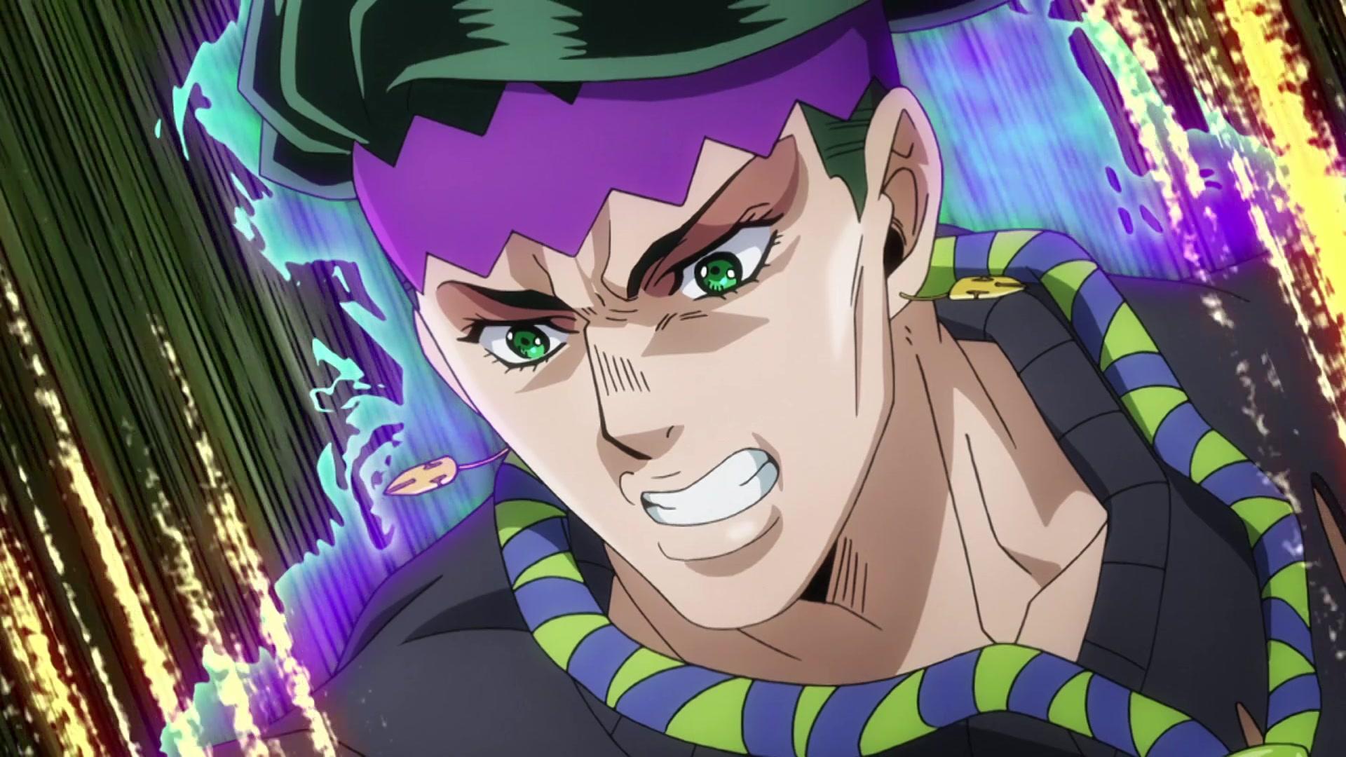 JoJo's Bizarre Adventure: Diamond is Unbreakable Episode 33, July
