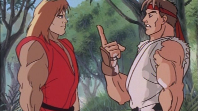 Street Fighter Ii The Animated Series Episode 1 The Adventure Begins Watch On Crunchyroll