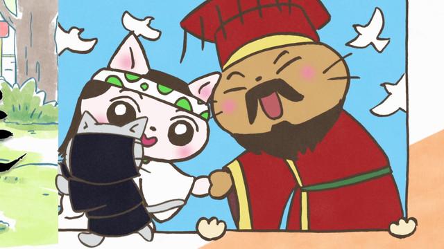 Meow Meow História Japonesa Anime revela revelação visual, 22 de fevereiro