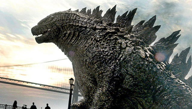 The titular monster of Gareth Edwards' 2014 Godzilla film is a big ol' chonker.