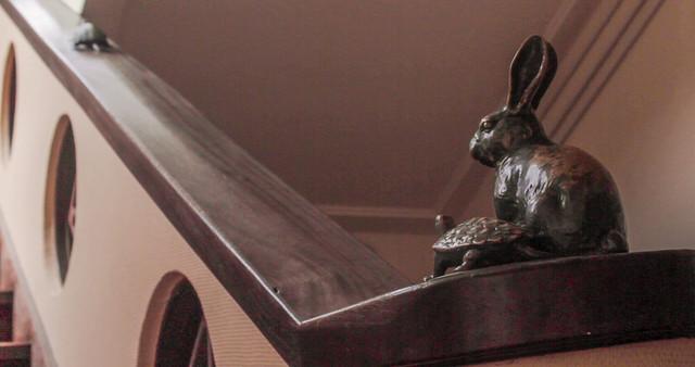 Former Toyosato Elementary School Rabbit