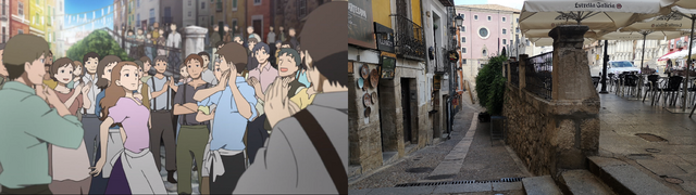 sound of the sky, anime, real life, pilgrimage
